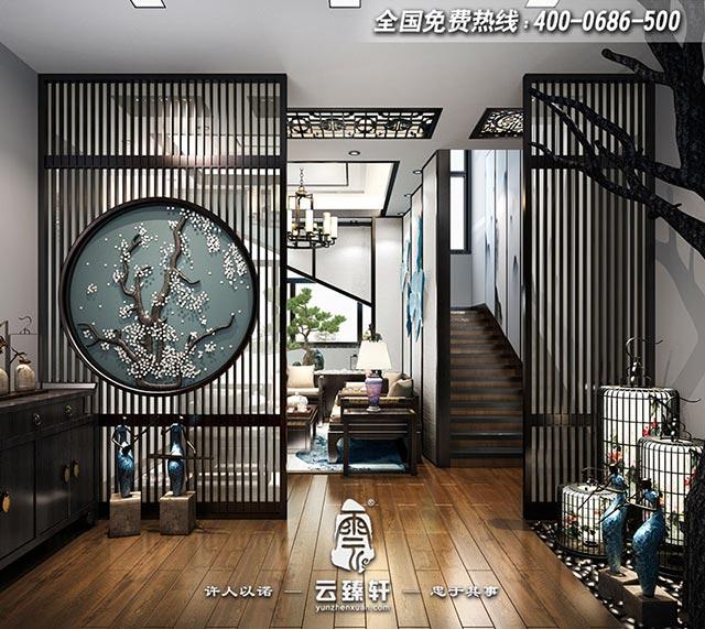 别墅门厅客厅的设计效果图